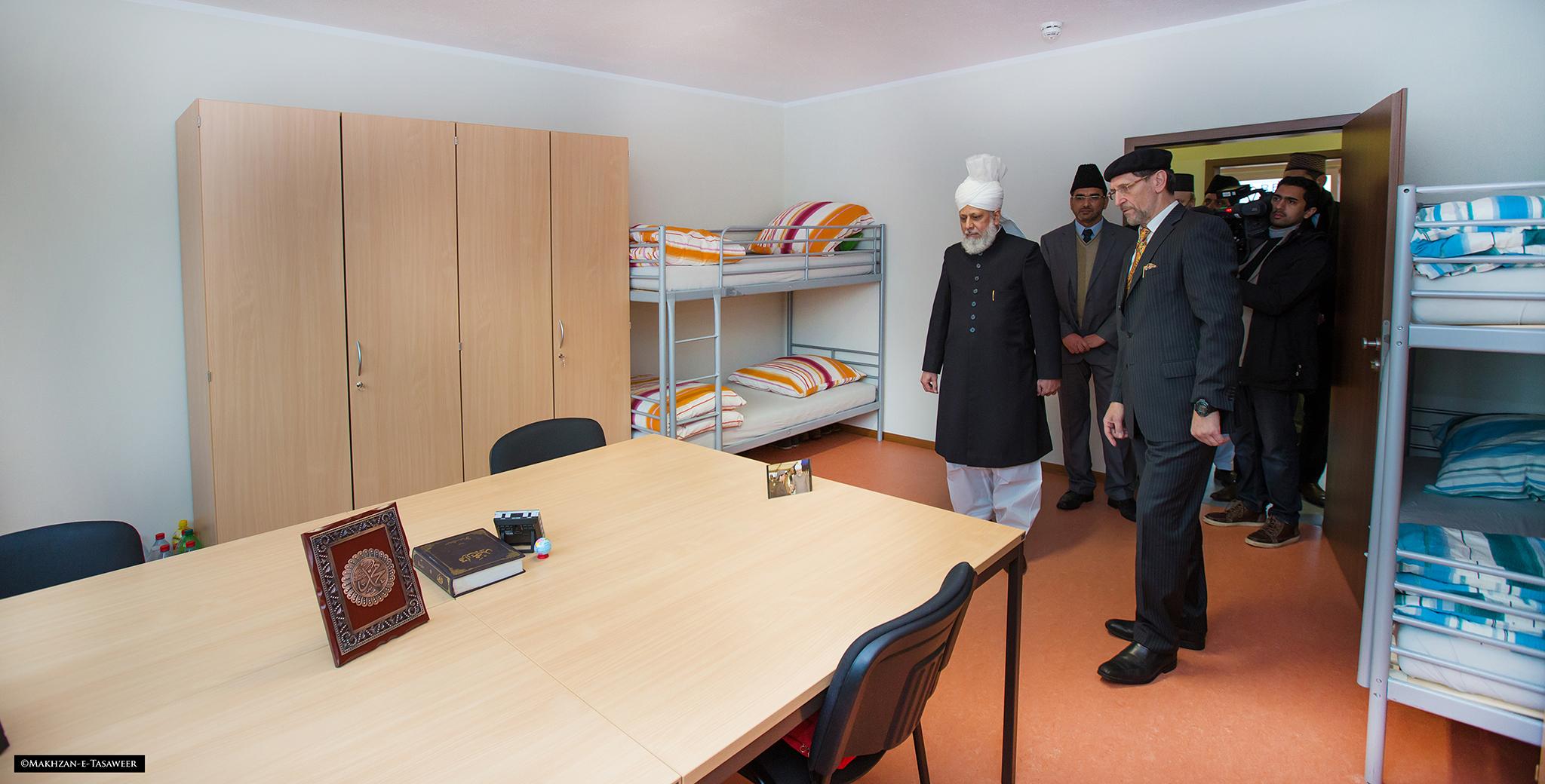 Eröffnung der Jamia Ahmadiyya Deutschland